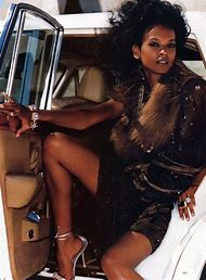 Fashion Model Liya Kebede