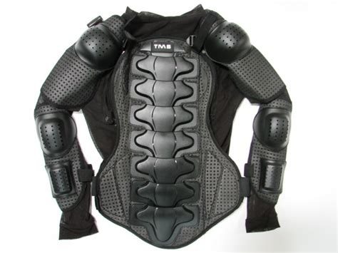 Motorcycle Mx Full Body Armor Jacket Spine Chest Shoulder