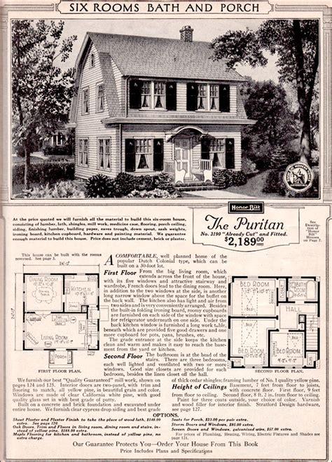 sears kit home puritan honor bilt modern homes dutch colonial revival shed dormer