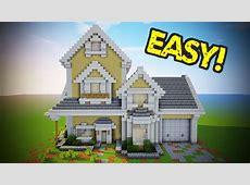 Minecraft Suburban House Tutorial Minecraft House