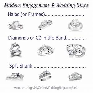 wedding ring styles ring styles and wedding ring on pinterest With kinds of wedding rings