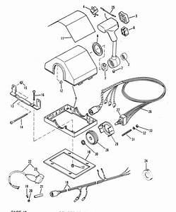 Mercury Marine Remote Controls  U0026 Components Remote Control Assembly  Dual Console  Parts