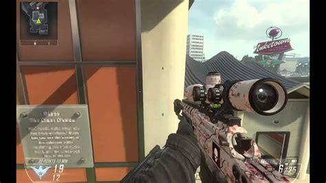 Sick Trickshot 1v1 Dsr Headshot Call Of Duty Bo2 Black