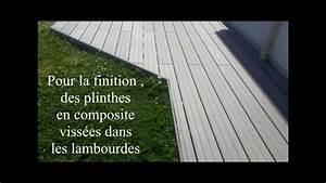 Terrasse Sur Plot : terrasse composite sur plots b ton youtube ~ Melissatoandfro.com Idées de Décoration