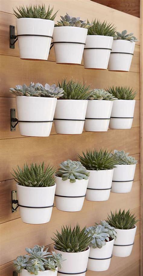 70 diy planter box ideas modern concrete hanging pot wall planter