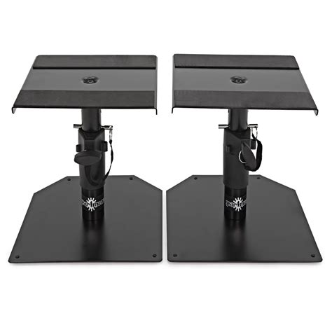desktop monitor speaker stands by gear4music pair at