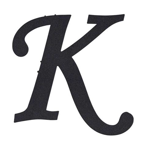 fancy letter k fancy letter k letters exle