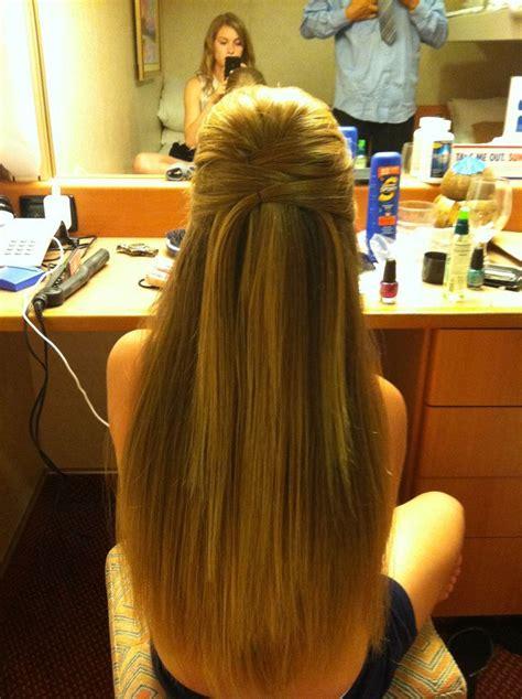 ideas  straight hairstyles prom  pinterest
