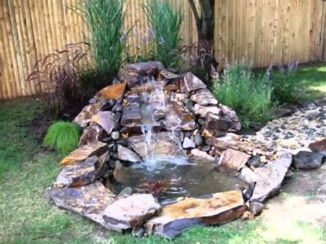 pictures of garden ponds and waterfalls small home garden ponds and waterfalls ideas youtube