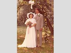 OUR WEDDING DAY SEPT 6, 1980 Lancaster, PA Old