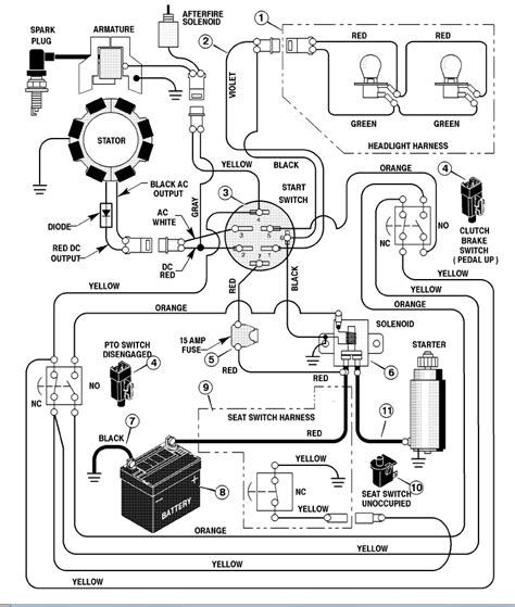 need wiring diagram for murray lawn tractor