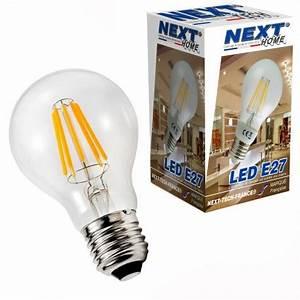 Ampoule Filament Vintage : ampoule led e27 a60 vintage filament 6w blanc froid ~ Edinachiropracticcenter.com Idées de Décoration
