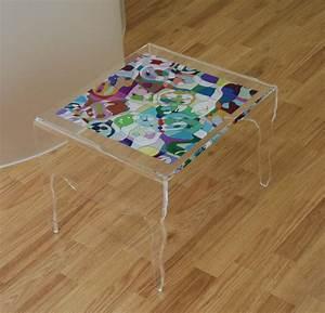 Table Basse En Plexiglas : table basse en plexiglas pmma table picasso ~ Teatrodelosmanantiales.com Idées de Décoration