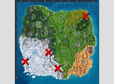 All Giant Candy Canes Locations Fortnite Candy Canes