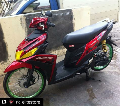 Modifikasi Mio Thailook by Modifikasi Mio M3 Thailook Modif Motor Terbaru 2017