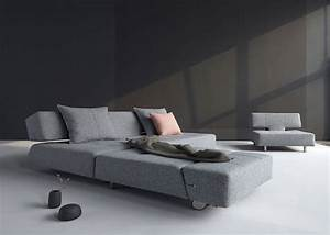 canape de luxe ultra design innovation living chez ksl living With canapé convertible original