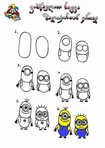 Minions | Learn to draw for kids | Pinterest | Minions 1 ...