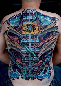 Biomechanical Tattoos Designs, Ideas and Meaning | Tattoos ...