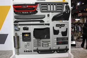 Sema 2017  Chevrolet Performance Parts For The Colorado Zr2