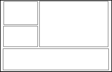 Comics Drawings Template by Double Page 1 By Comic Templates On Deviantart