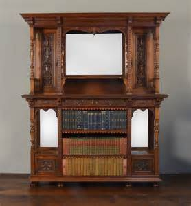 Open Sideboard by Gillow Co Walnut Sideboard Open Bookcase Antiques Atlas