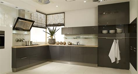 moderne küchen l form l form k 252 che anthrazit hochglanzlack