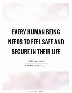 Being Secure Quotes & Sayings | Being Secure Picture Quotes