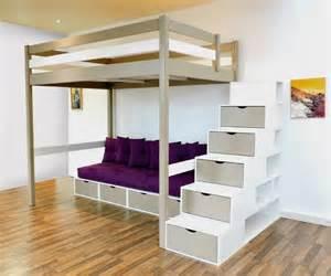 chambre ado lit 2 places 23 best images about lit mezzanine abc meubles on