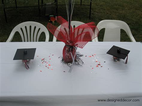graduation party putting it all together designed decor