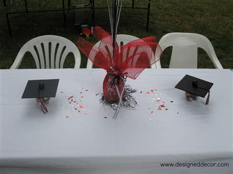 graduation decoration ideas for tables graduation putting it all together designed decor