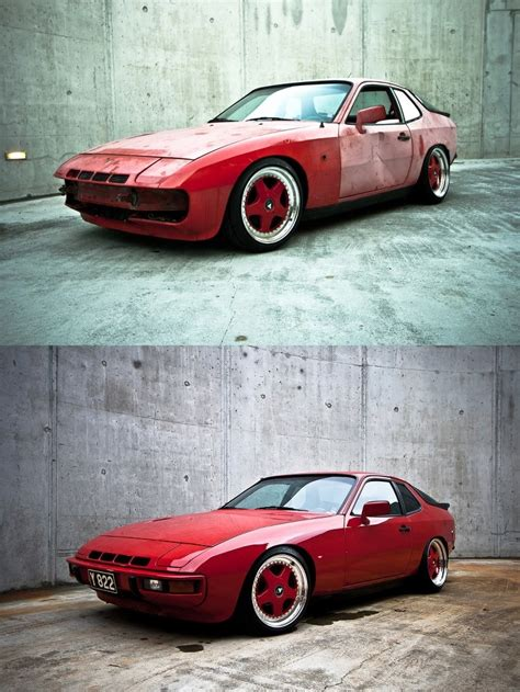 wrecked car before and after here is a great exle of what a junk car can become