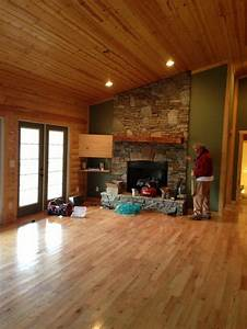 Interior paint color for log cabin style greatroom for Interior paint colors for log cabins