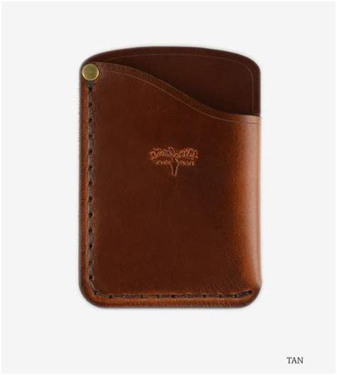 Small Leather Card Holder Wallet   Features Leather Goods