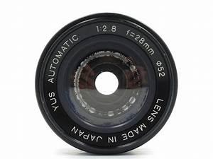The Yus Automatic 28 Mm F   2 8  Iii  Lens  Specs  Mtf