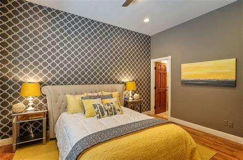 chambre jaune et gris idées déco pour une chambre jaune et grise