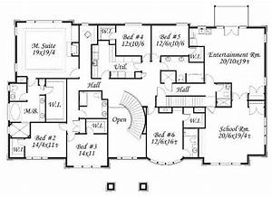 House Plan Drawing Valine - Architecture Plans #75598