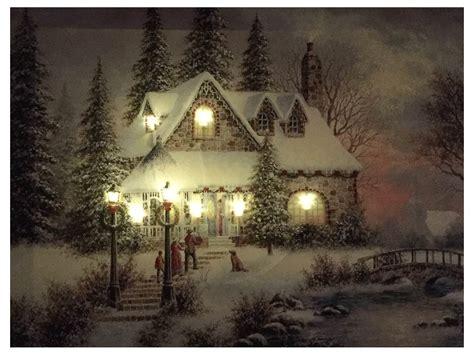 led beleuchtung weihnachten led bild weihnachten winterdorf mit 8 lichtern