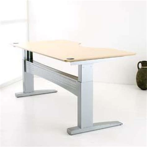 Conset Desk 501 11 by Conset 501 11 Centre Cut Height Adjustable Desk