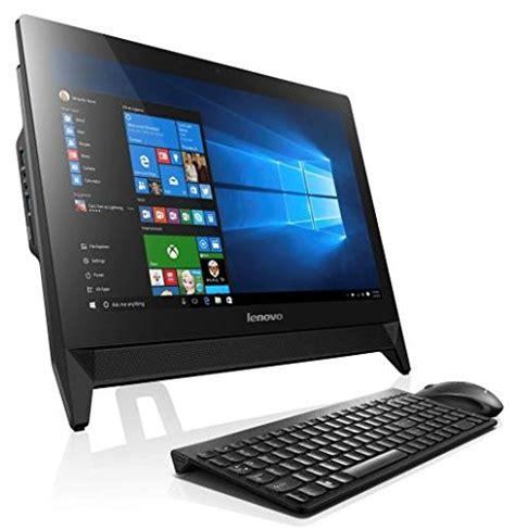 ordinateur de bureau tout en un pas cher lenovo c20 05 ordinateur de bureau tout en un 20 39 fhd noir