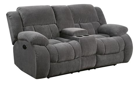 Recliner Loveseats With Console by Weissman Casual Pillow Padded Reclining Sofa Seat