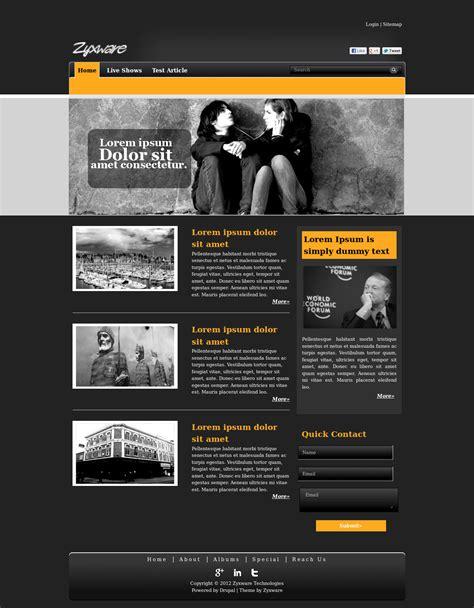 Black Blog   Drupal.org