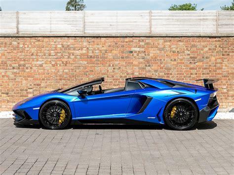 lamborghini aventador sv roadster blue 2016 used lamborghini aventador lp 750 4 sv roadster blue nethuns