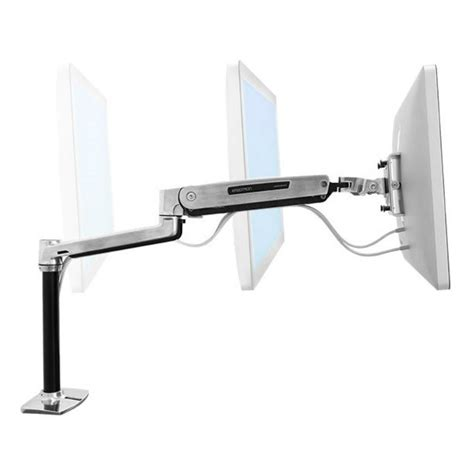 ergotron sit stand desk adjustment ergotron lx hd sit stand desk mount lcd arm 45 384 026