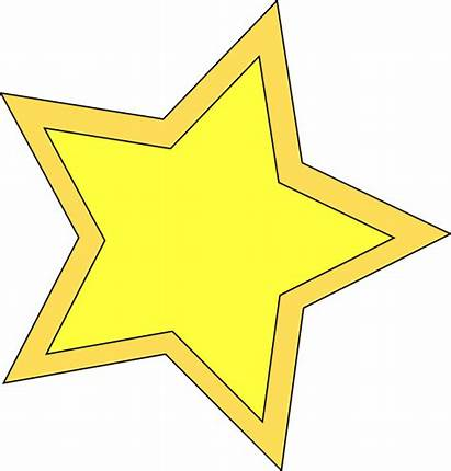 Star Clip Double Clipart Twinkle Clker Vector