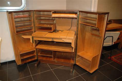 bureau vietuel armoire secretaire bureau depliant
