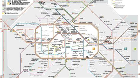 metro map   bahn plan berlin