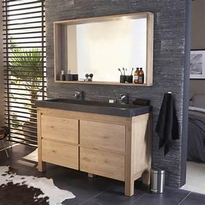 Meuble castorama de salle de bain en chene photo 5 20 for Castorama meuble haut salle de bain