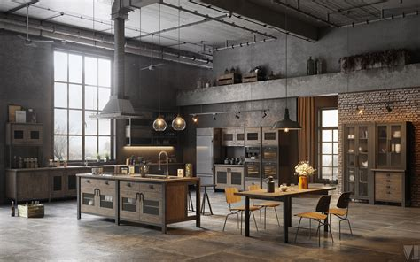 amazing loft kitchen designs   blow  mind