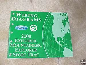 2008 Ford Explorer  Mountaineer Wiring Diagrams