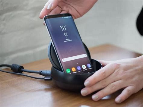 connecter un pc de bureau en wifi avec le dock dex samsung transforme le galaxy s8 en pc de